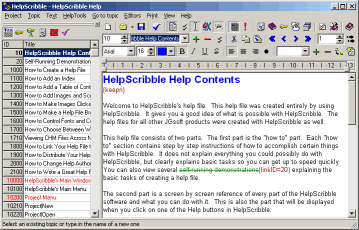 HelpScribble Screen Shot (click to enlarge)